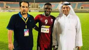 Kenyan striker John Makwatta signs for Al Nasr in Kuwait.