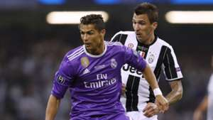 Cristiano Ronaldo Mario Mandzukic Juventus Real Madrid UCL 03062017