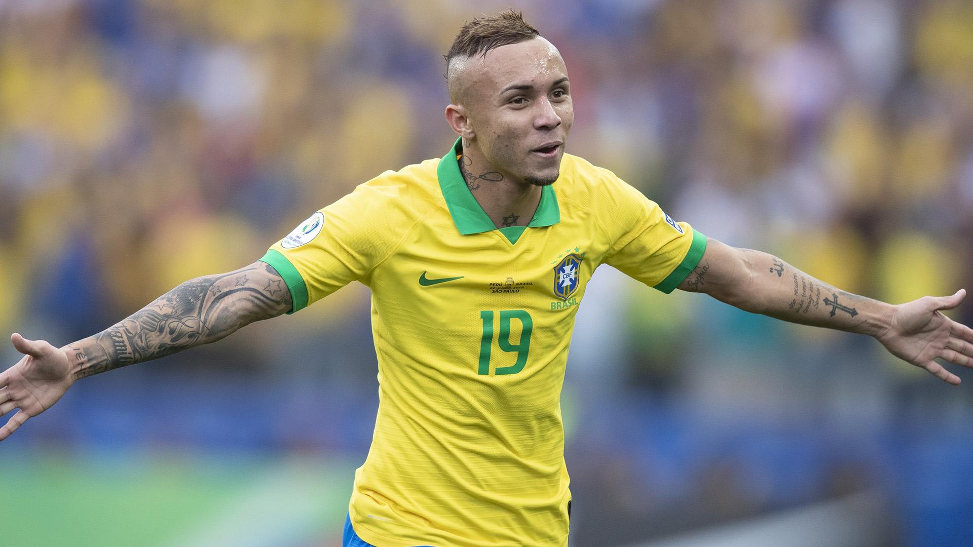 Everton Brasil Peru Copa América 22062019