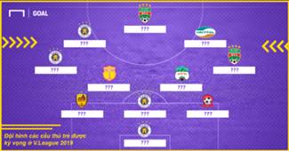 Under 23 Formation V.League 2019 mask