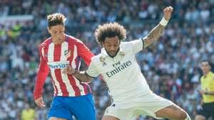 Marcelo Fernando Torres Real Madrid Atletico Madrid La Liga