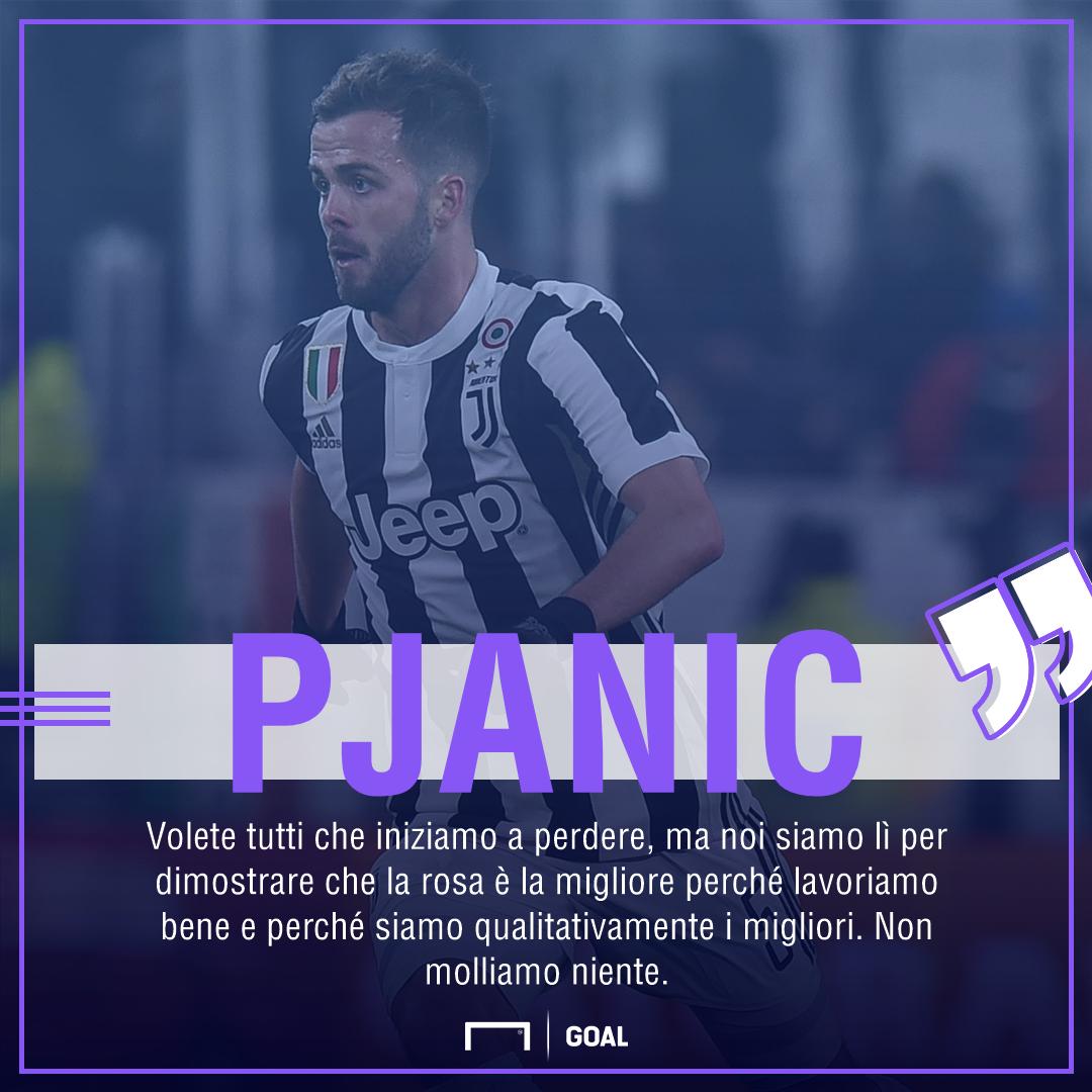 PS Pjanic post Juventus Inter