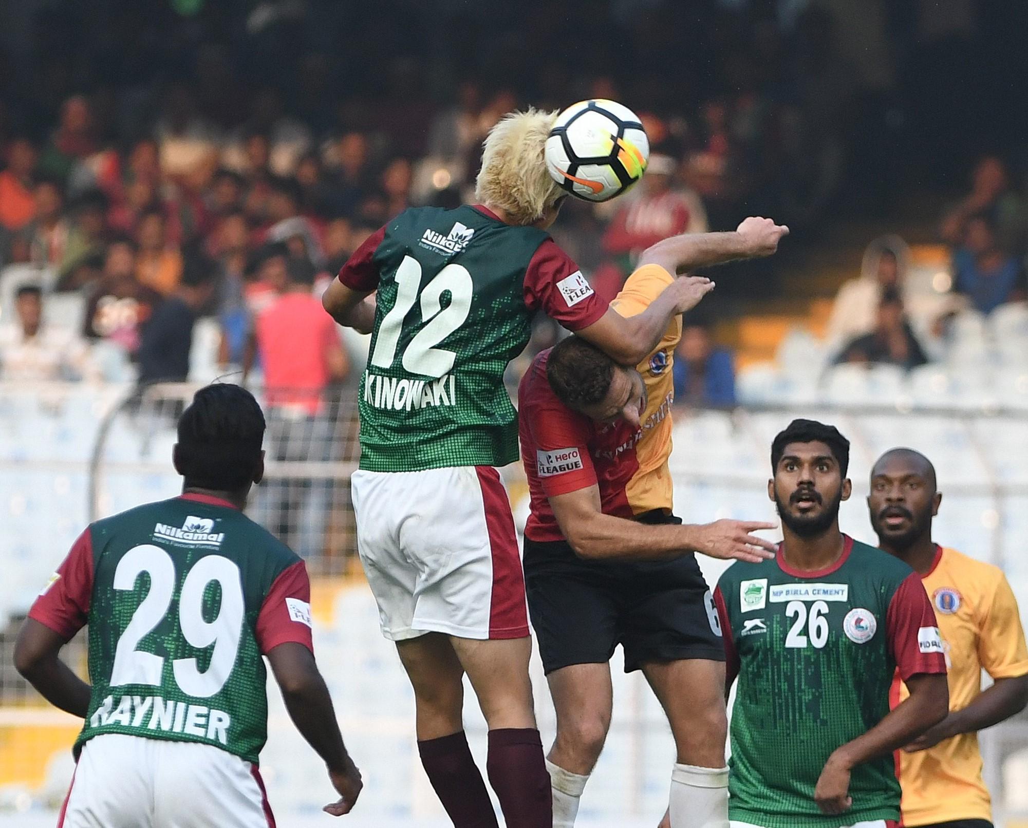Mohun Bagan edges East Bengal 1-0 in Kolkata derby