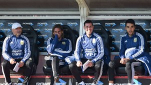 Argentina en Rusia 2018 Cuerpo técnico Sebastián Beccacece Francisco Meneghini Jorge Sampaoli