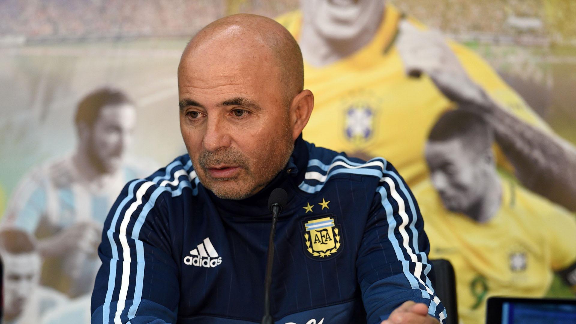 Jorge Sampaoli Argentina Brasil 090617
