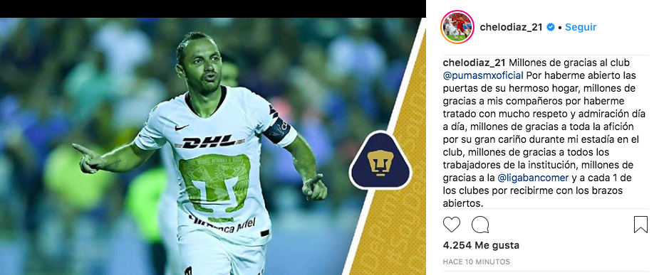 Marcelo Díaz Instagram