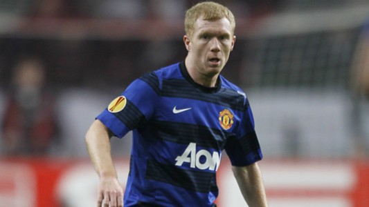 Paul Scholes, Manchester United, Europa League, 02162012