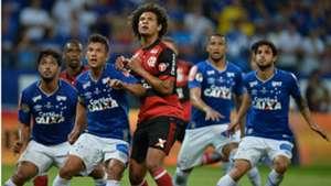 William Arão Léo Hudson I Cruzeiro Flamengo I 27 09 17