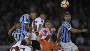 gol Michel River Plate Gremio Copa Libertadores 23102018