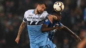 Acerbi Duvan Zapata Atalanta Lazio Coppa Italia