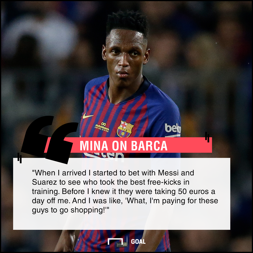 I Was Paying For Messi S Shopping Mina Admits To Losing Free