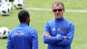 Rhulani Mokwena & Milutin Sredojevic, Orlando Pirates, May 2018