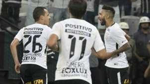 Rodriguinho, Romero e Clayson - Corinthians - 24/02/2018