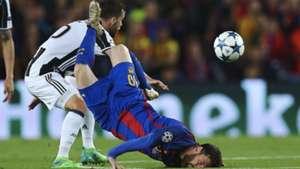 Miralem Pjanic Juventus Lionel Messi Barcelona Champions League