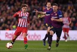 Griezmann Lenglet - Atlético Barcelona