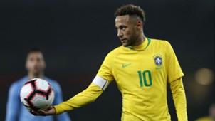 Neymar Brazil Uruguay