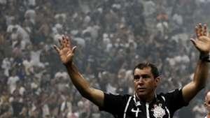 Fabio Carille festa campeao Corinthians Fluminense Brasileirao Serie A 15112017