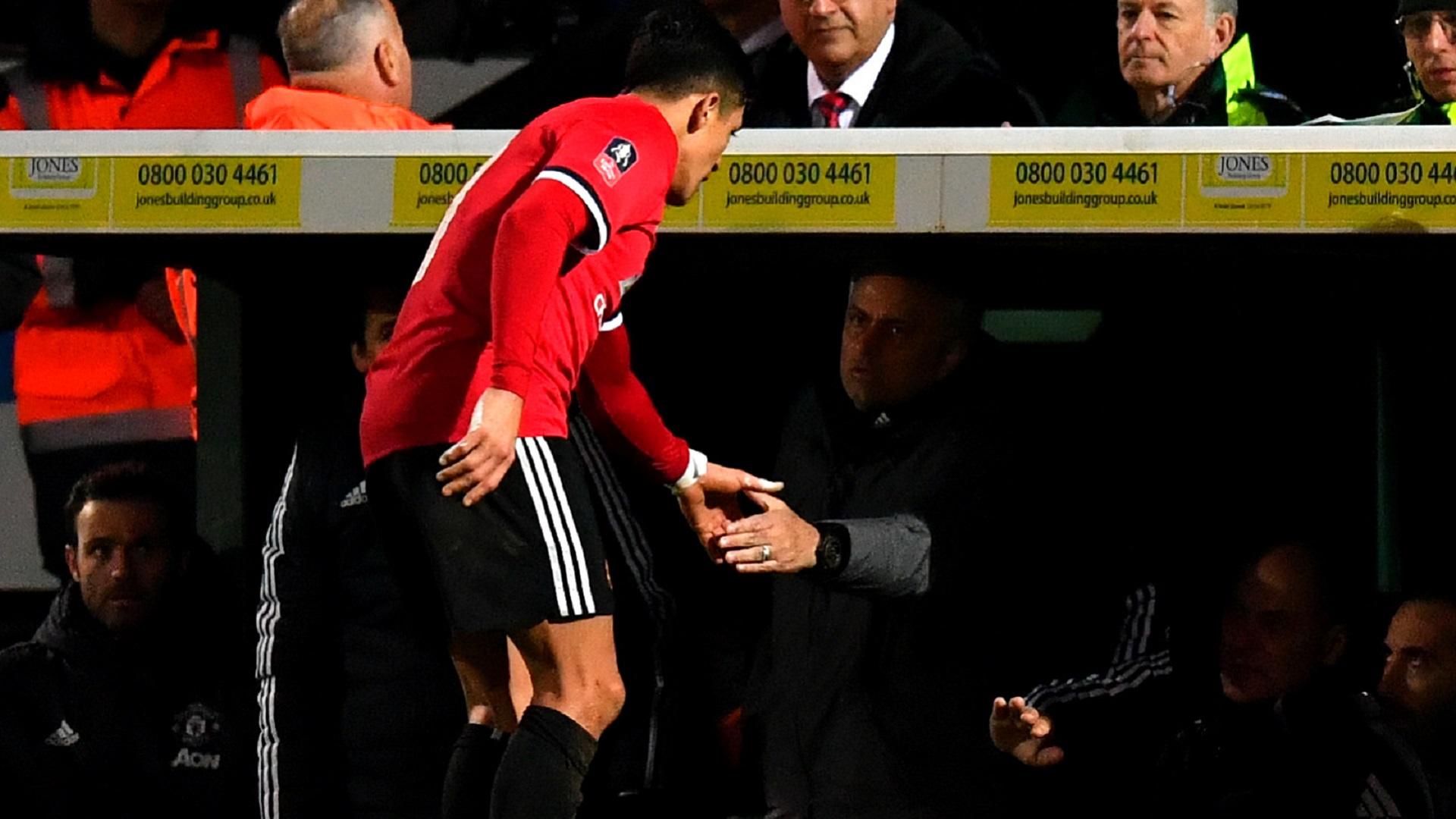 2018-01-27 Alexis Sanchez Mourinho