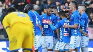 Ounas Napoli Frosinone Serie A