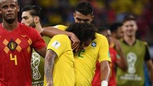 Marcelo Thiago Silva Brazil Belgium World Cup 06072018