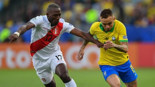 Advincula Everton Brasil Peru Copa America final 07072019