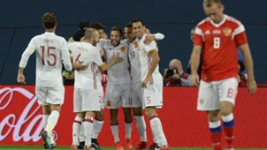 Spain Russia Friendly