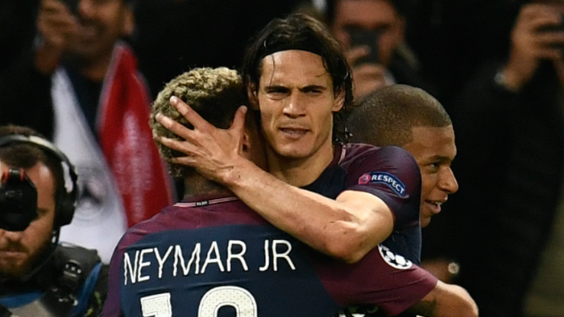 Edinson Cavani Neymar PSG Paris Saint-Germain