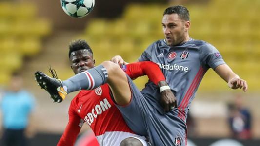 Dusko Tosic Keita Balde Monaco Besiktas UEFA Champions League 17102017