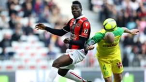 Mario Balotelli Nicolas Pallois Nice Nantes Ligue 1 18022018