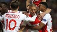 Mbappe celebrates