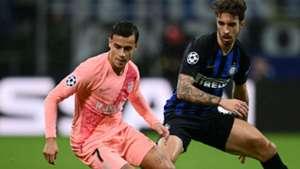 Coutinho Vrsaljko Inter Barcelona Champions League