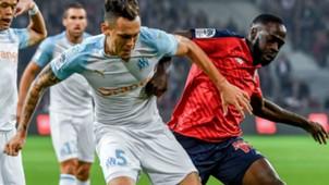 Lucas Ocampos Jonathan Ikone Lille Marseille Ligue 1 30092018