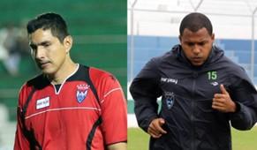 Carlos Arias y Jherson Córdoba
