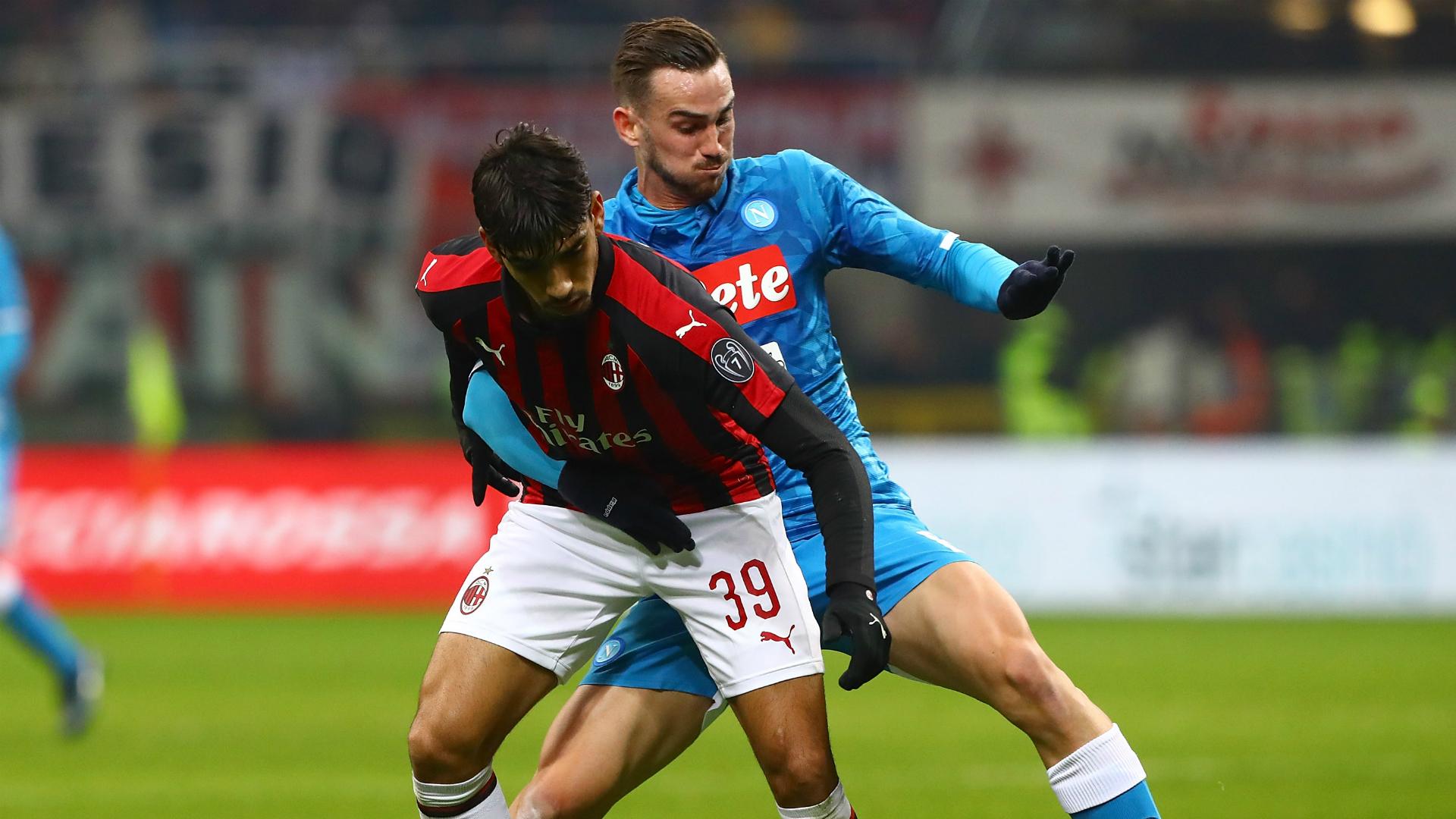 Lucas Paquetà Fabian Ruiz Milan Napoli Serie A