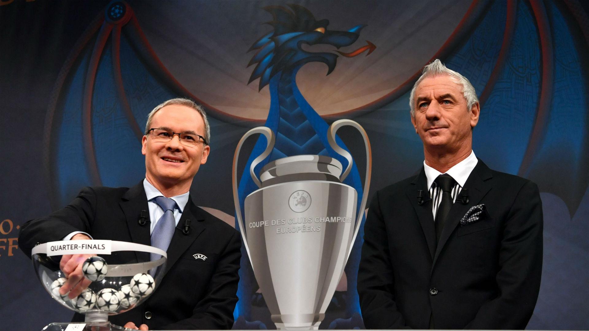 Giorgio Marchetti Ian Rush Champions League draw 2016-17