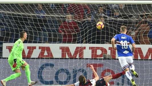Dennis Praet Sampdoria Bologna Serie A
