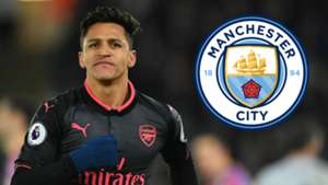 Alexis Sanchez Man City
