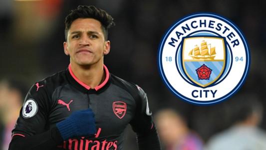 Alexis Sanchez Man City