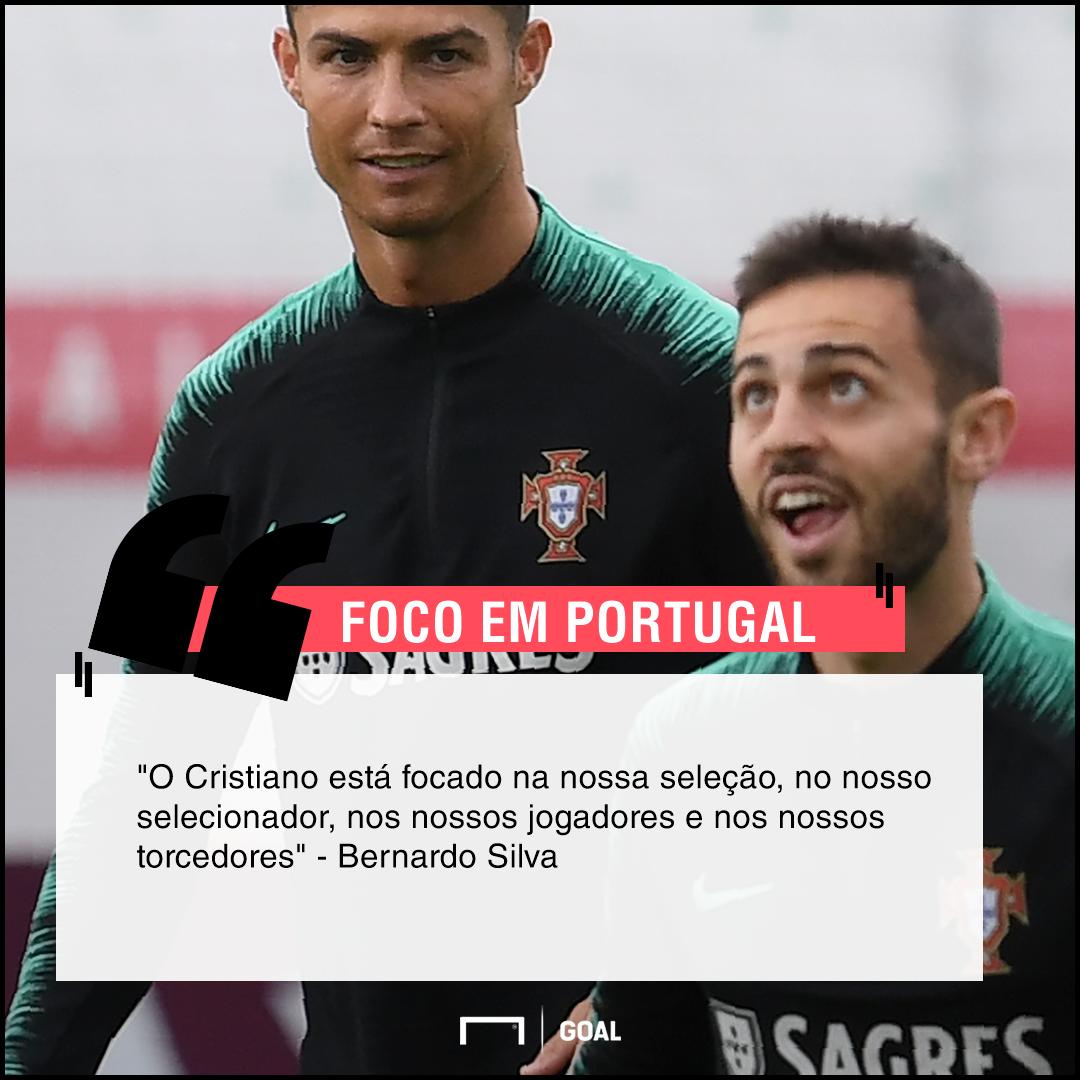 GFX Bernardo Silva Cristiano Ronaldo