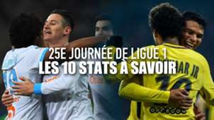 Ligue 1 J25 - 10 stats