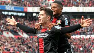 KAI HAVERTZ BAYER LEVERKUSEN GERMAN BUNDESLIGA 06042019