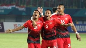 Selebrasi Irfan Jaya - Indonesia U-23