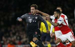 Mats Hummels Theo Walcott Bayern Munich Arsenal 07032016