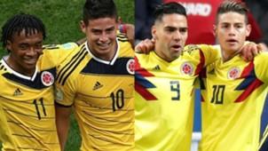 Colombia 2014 vs 2018