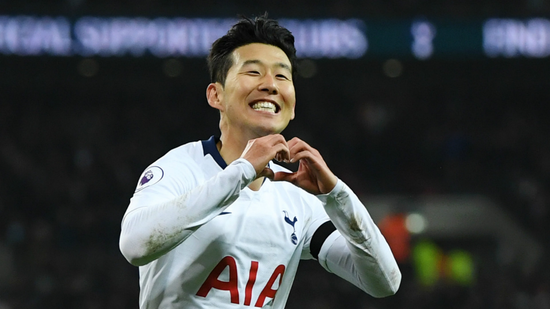 Son  Heung-Min tattoo, the Korean number 7 from Chuncheon, South Korea