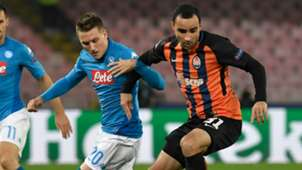 Zielinski Ismaily Napoli Shakhtar Champions League