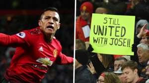 Alexis Sanchez Jose Mourinho sign split