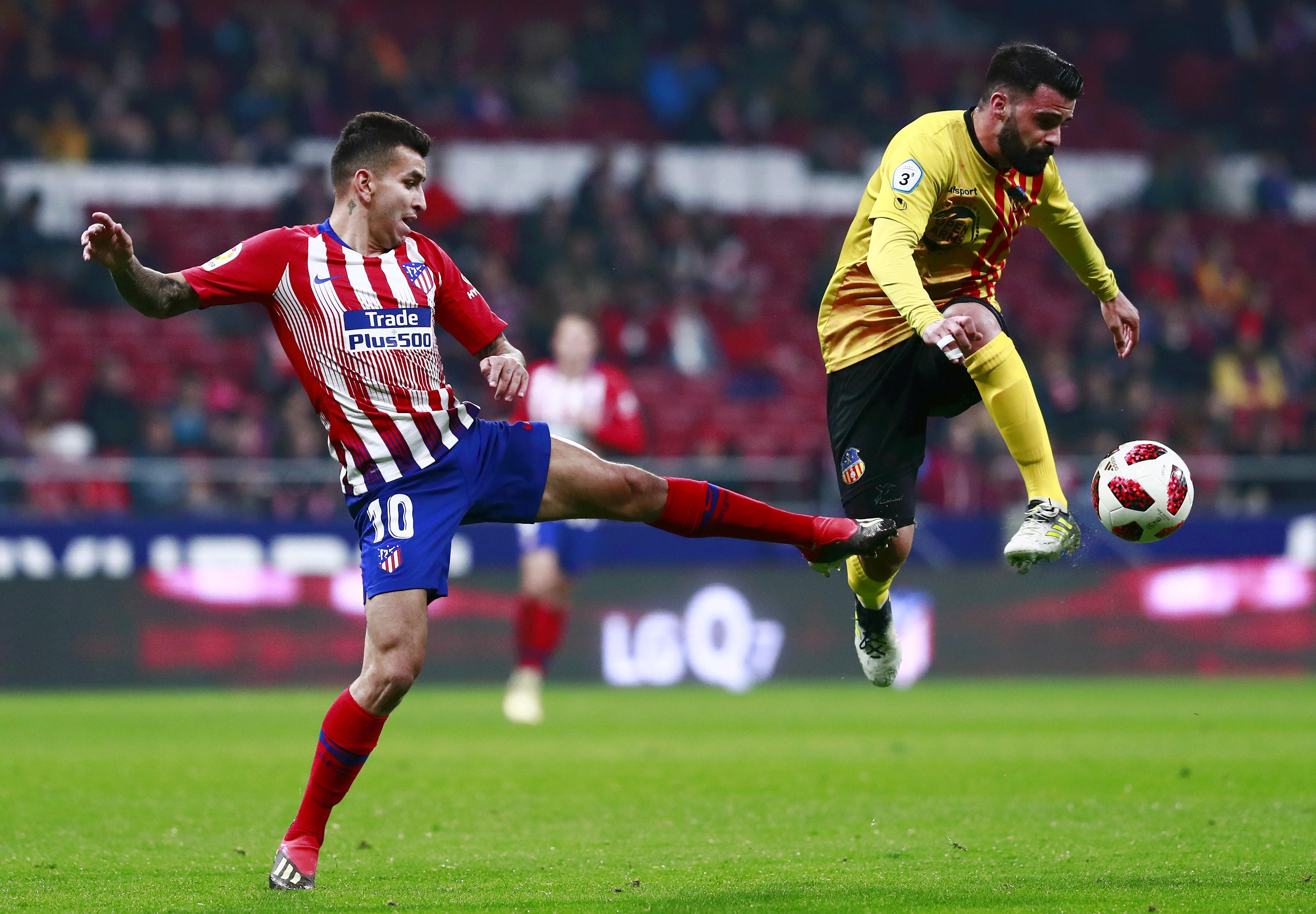 Correa Atletico Madrid Sant Andreu Copa del Rey