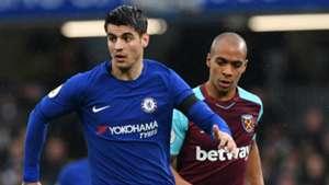 Alvaro Morata Chelsea West Ham