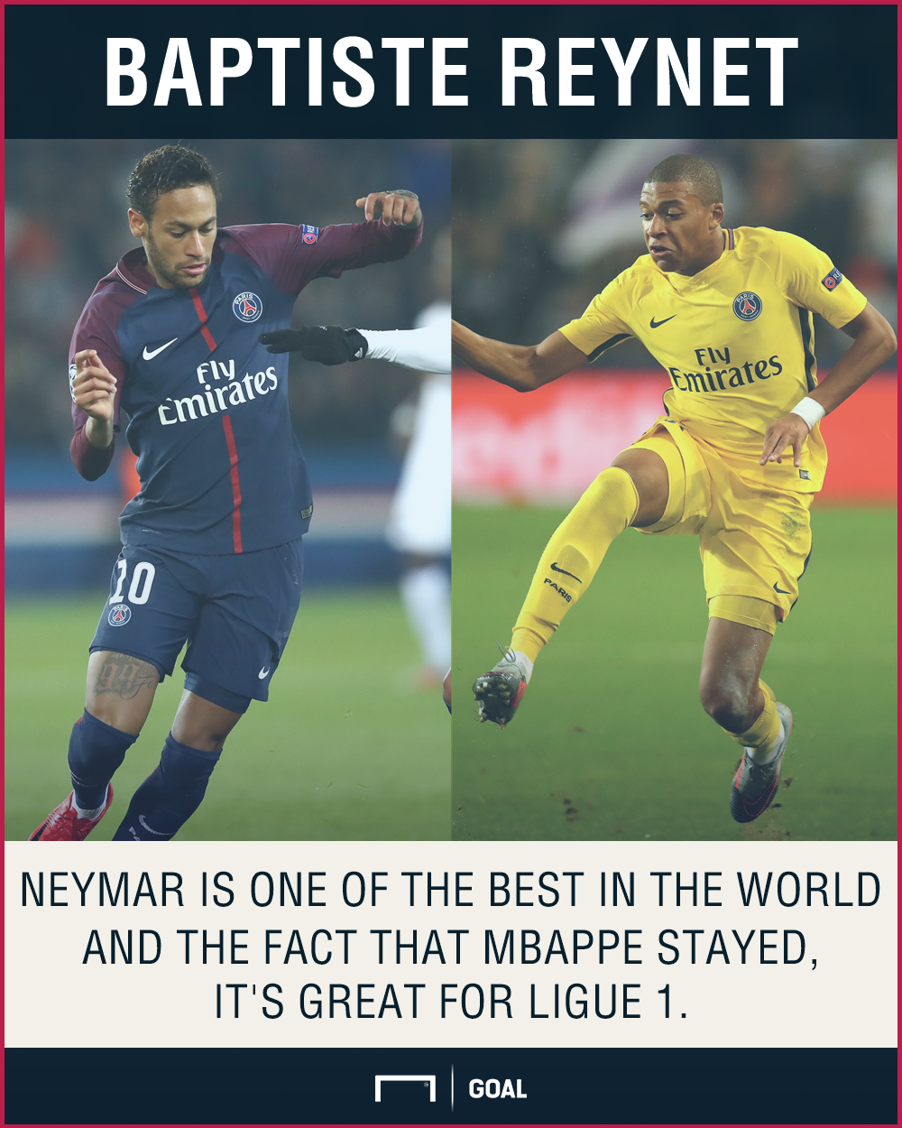 'Neymar great for Ligue 1' - Reynet a fan of €222m deal and Mbappe's PSG switch
